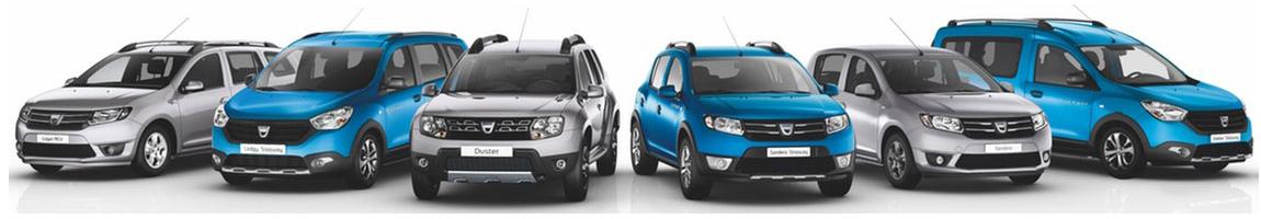 Dacia Modelle